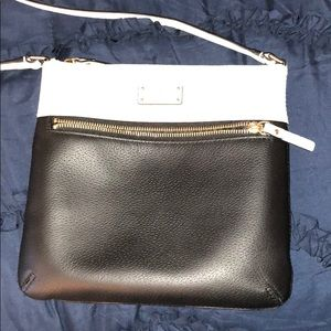 Kate Spade black and white purse